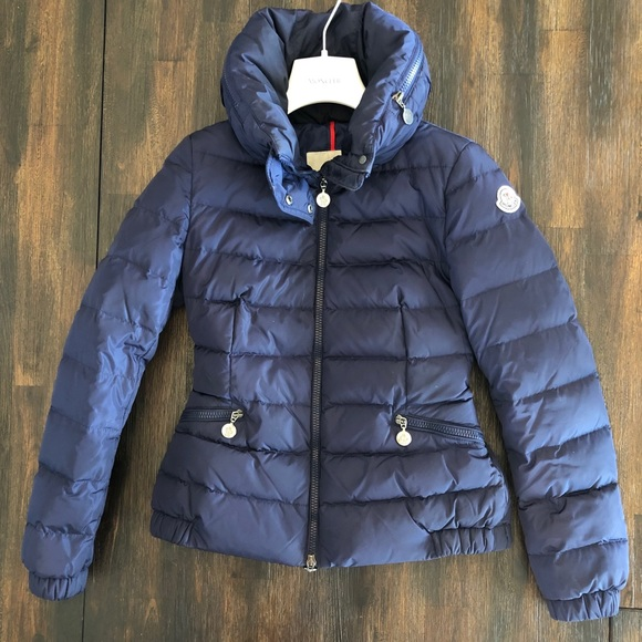 e81850f26 Authentic Moncler Sanglier Navy Blue Puffer Jacket